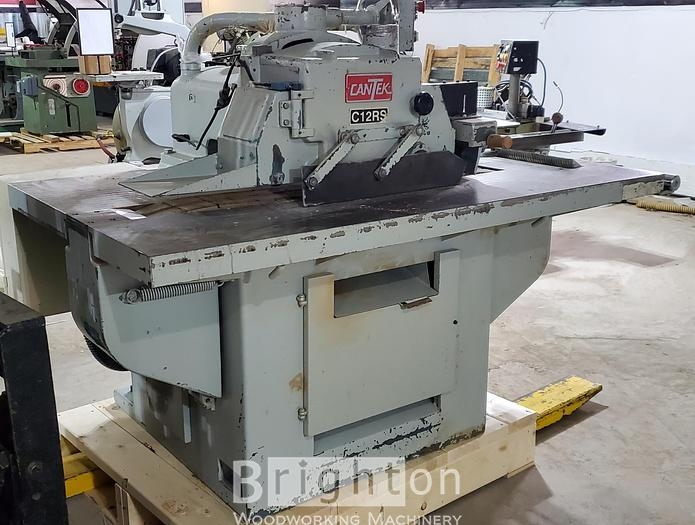 Used Cantek CR12, Used straighline ripsaw