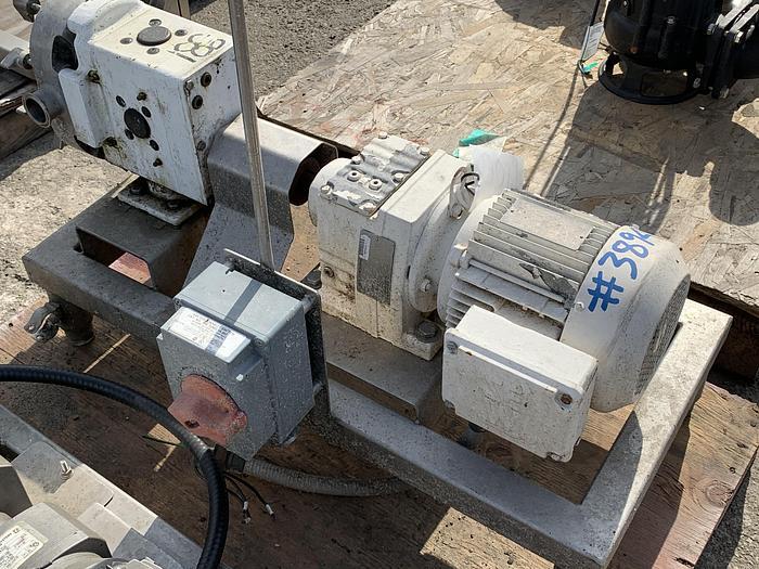 """AMPCO 2""""x 2"""" Postive Displacement Pump"""