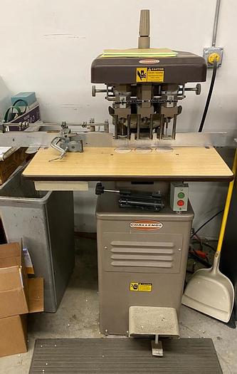Used Challenge EH-3A Paper Drill