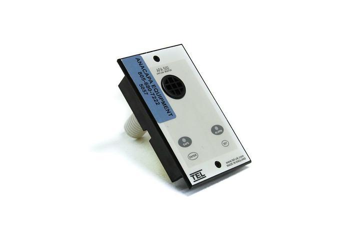 Used TEL AFA 500 Airflow Monitor Audio-Visual Fume Hood Alarm (5057)