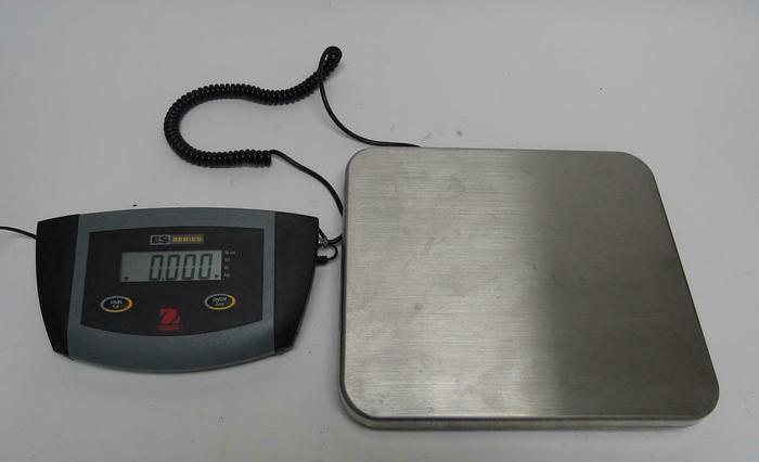 Used Ohaus ES6R Low Profile Bench Scale - Shipping & Receiving Scale (2158A)