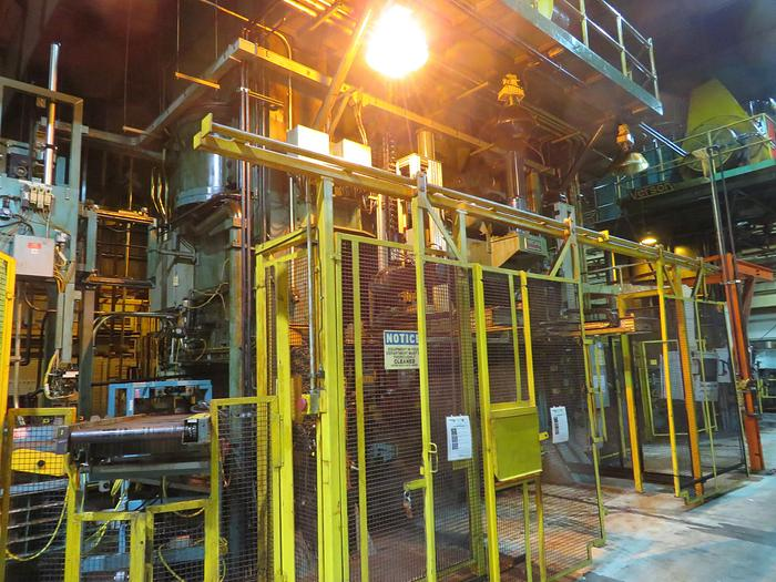 """Used 2500 TON CLEARING SSDC PRESS, 1980, 144"""" X 60"""""""