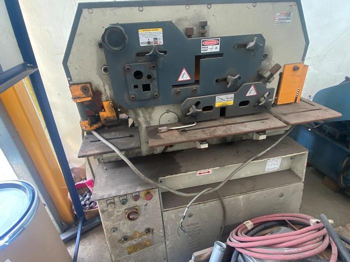 Used 2013 Sahinler HKM Ironworker/Metalworker/Steelworker