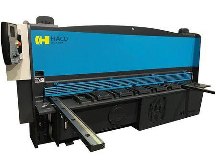 NEW Haco 10' x 1/4 Hydraulic Plate Shear HSL x 10 x 1/4