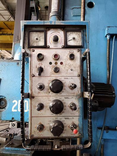 1982 Vertical Turning Lathe SC2500