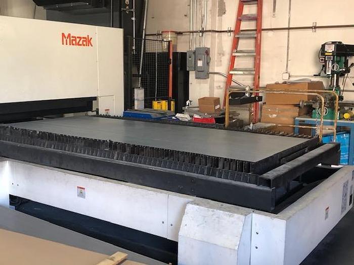 Used 2015 3000 Watt Mazak Optiplex 3015 CNC CO2 Laser