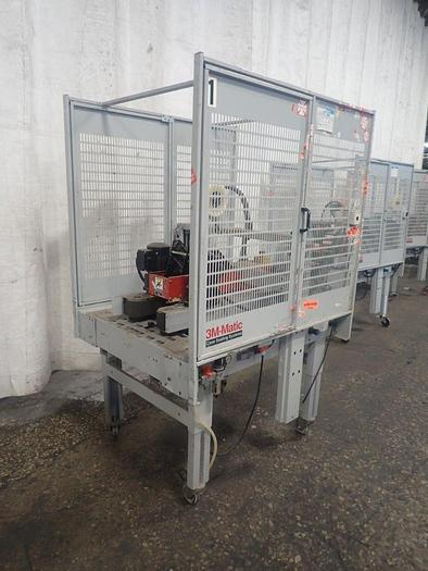 Used 3M-Matic Case Sealer 800r3 With AccuGlide 3 Taping Head Random Taper