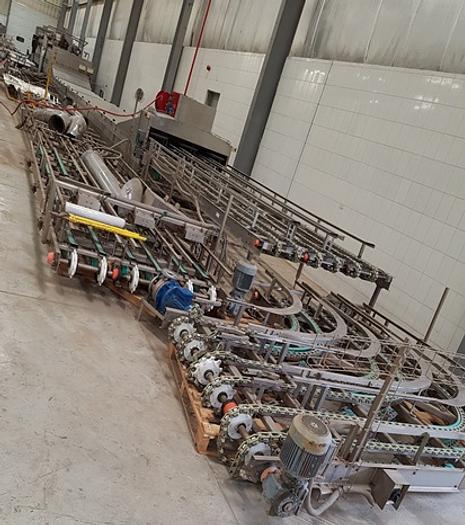 PLASTIC CRATE WASHING MACHINE
