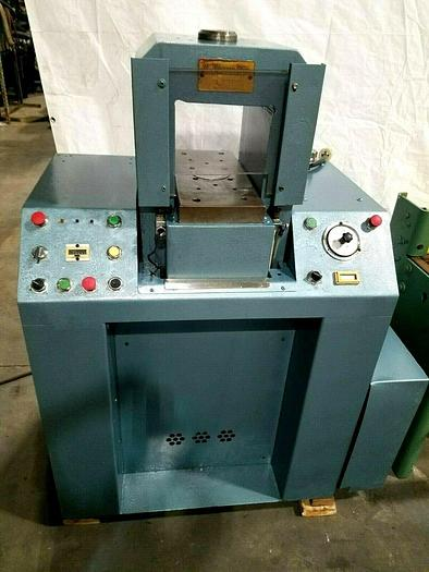 Used 200 Ton Hydraulic Coining Press Hobbing Stamping Gold Silver Brass