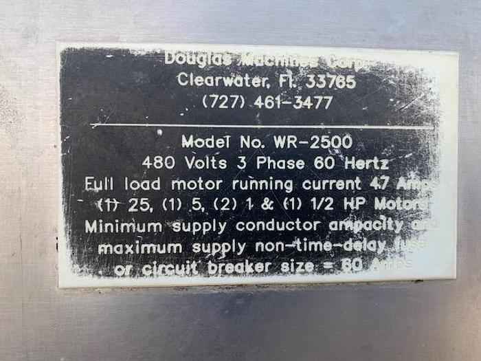 Douglas Tray-Tote Washer Model WR-2500