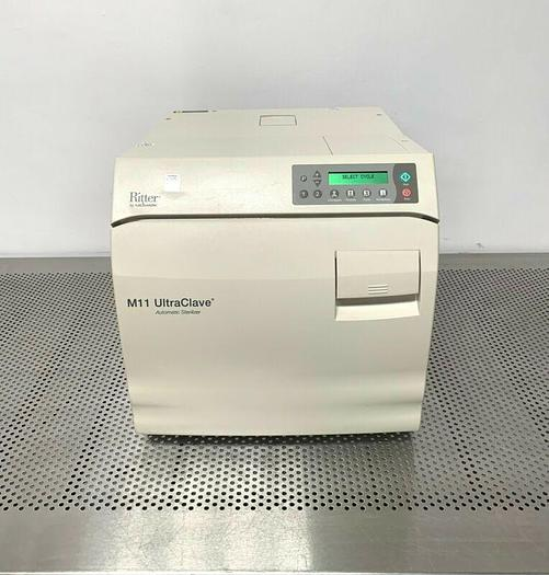 Used Ritter / Midmark M11-022 Ultraclave Automatic Steam Sterilizer 6.5 Gallon A