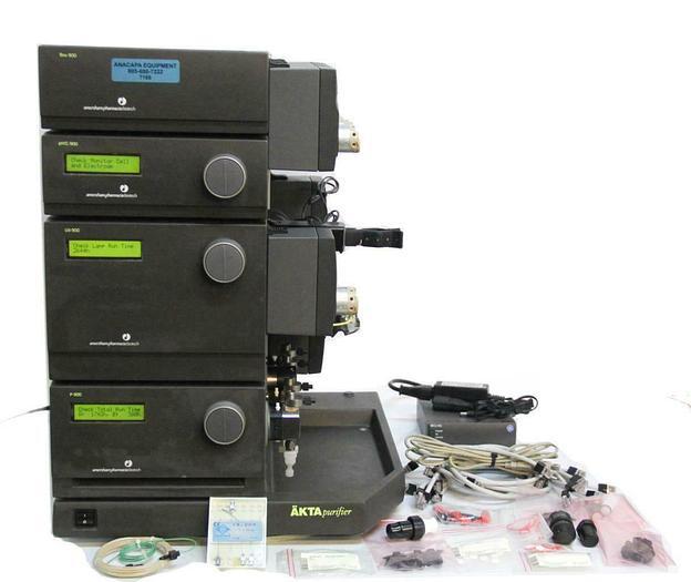 Used GE FPLC AKTAPurifier P-900 PH/C-900 UV-900 CV-950 PV-908 INV-907 IV-908 (7168) R
