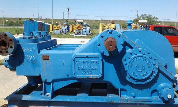 Used Rebuilt Gardner Denver PZ-7 - Triplex Pump