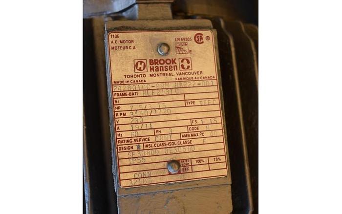 USED HOMOGENIZER, 7.5 HP, STAINLESS STEEL