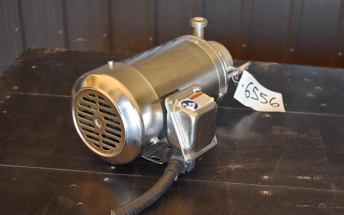 "USED SPX CENTRIFUGAL PUMP, 1.5"" X 1"" INLET & OUTLET, STAINLESS STEEL"
