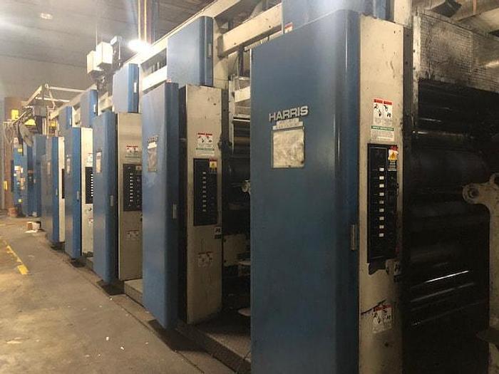 "Used 1997 Heidelberg Harris M1000A1 Printing Units 22.750"" cutoff x 38"" Width"