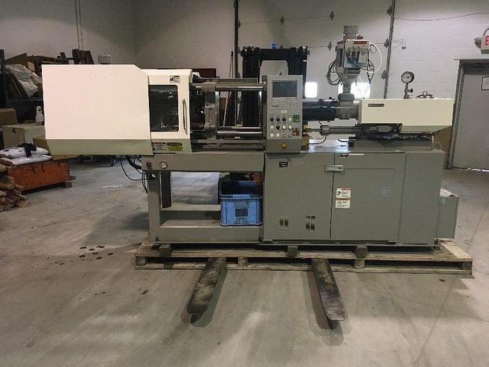 NISSEI NS60-9A INJECTION MOLDING MACHINE, 72 TON, NEW 2000