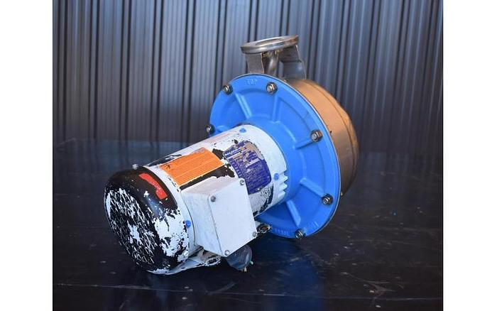 """USED CENTRIFUGAL PUMP, 2"""" X 1.5"""" INLET & OUTLET, STAINLESS STEEL"""