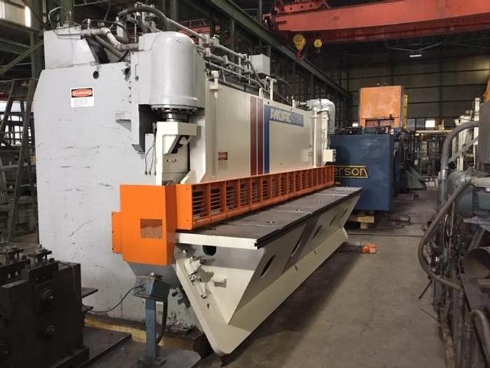"""Used 2000 - 3/8"""" x 16' Pacific 300G16 Hydraulic Shear"""