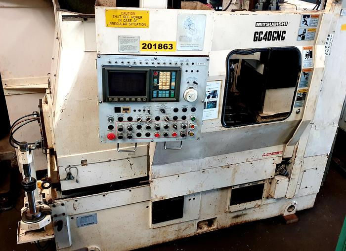Mitsubishi GC40 (5 axis) CNC  Gear Hobbing Machine