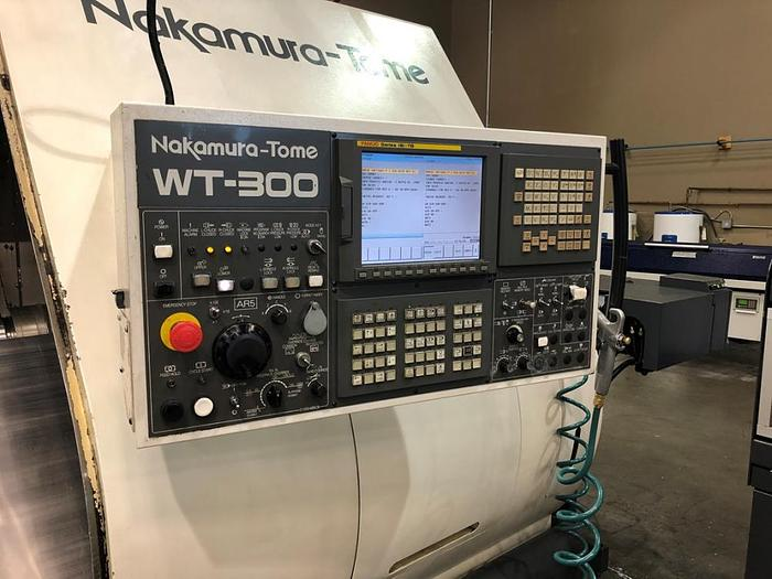 NAKAMURA TOME, WT-300MMYS, TWIN SPINDLE / TWIN TURRET TURN/MILL CENTER