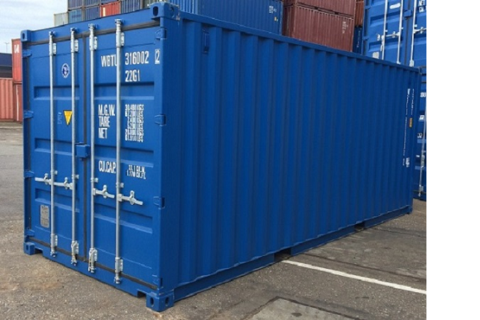 "20 'Container 8'6 ""Steel floor"