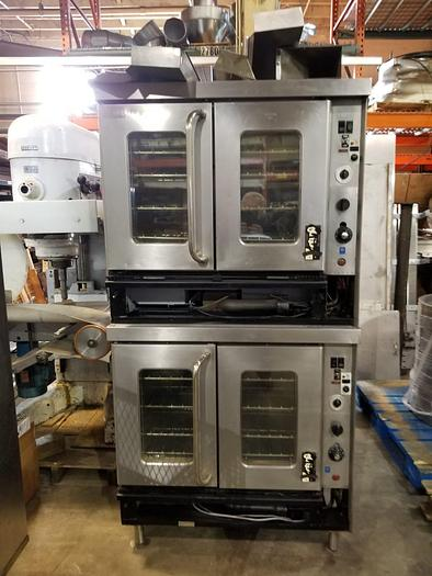 Used Montague Gas Convection Ovens - Set of 2