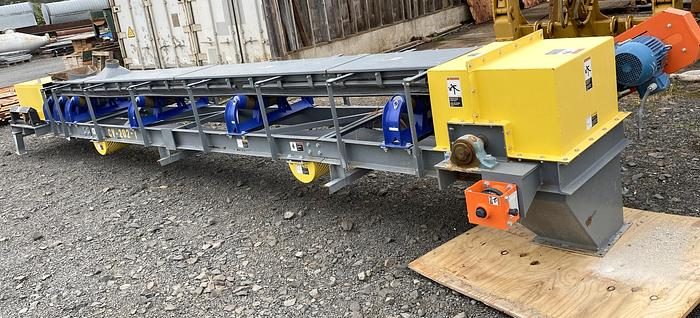 "Used 2017 20 ft troughing conveyor , used 20 ft x 18"" belt conveyor, Thomas conveyor company 20ft x 18"""