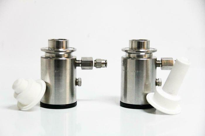 Used ASEPCO PN05 Radial Valve Pneumatic Actuators Tank Valve AJS Lot of 2 (5732) g