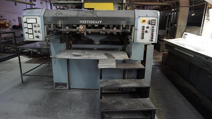 "Used 1994 Vits Rotocut sheeter 22.75"" (578mm) cutoff"
