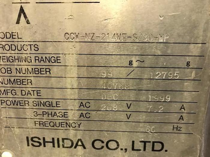 1999 ISHIDA NZ SERIES DIMPLED SCALE