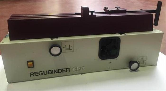 D'occasion REGULUS GmbH (D) REGUbinder RB3