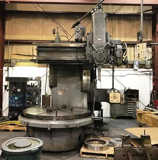 "72"" Webster Bennett Vertical Turret Lathe, 84"" Swing, 83 rpm, 30 hp, ID17495"