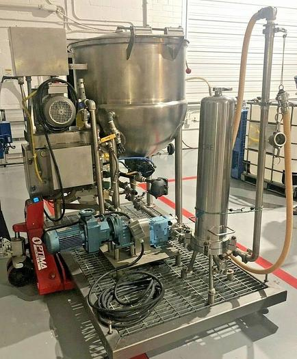 Process Systems Inc Processing System, Mixing Tank/Pump/Filter