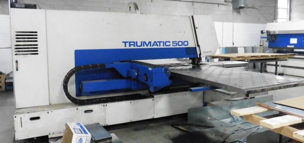 25 TON, TRUMPF TC-500 / 1300, 1995, CNC TURRET PUNCH