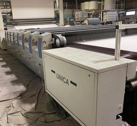 Used ROTARY PRINTING MACHINE REGGIANI UNICA 320