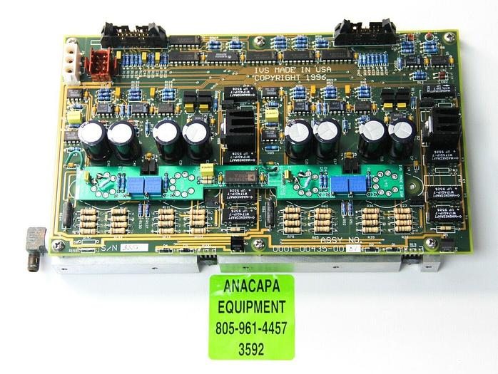 Used IVS 0001-00435-0001 Water-Cooled PCB / Interface Card from IVS 220 CD SEM (3592)