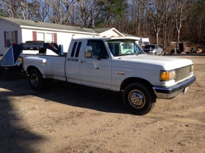 1991 FORD F350 Dually Truck