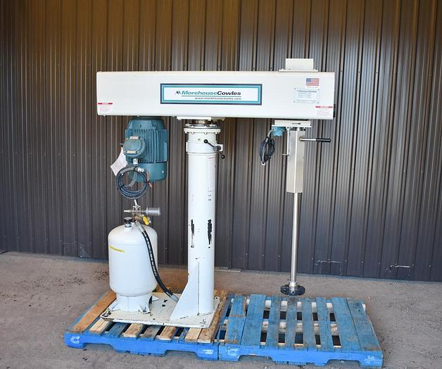 Used USED 2016 MOREHOUSECOWLES DISPERSER/DISSOLVER, STAINLESS STEEL, 15 HP