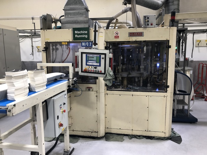 2001 Horauf BMP 200 Speed Paper Cup Machine