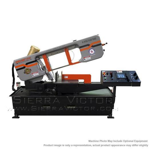 HE&M Horizontal Miter Bandsaw HS1216