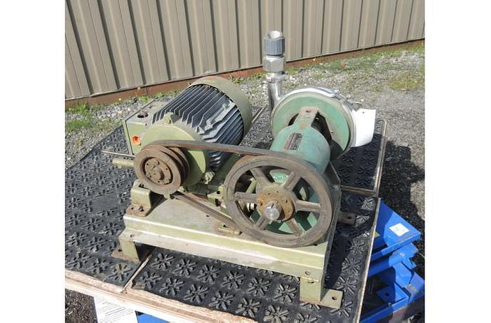 """USED CENTRIFUGAL PUMP, 2"""" X 1.5"""" INLET & OUTLET, STAINLESS STEEL, SANITARY"""