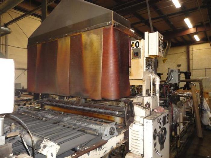 "Used 56""  Solid Roll B308 Sheldahl Sideweld Bag Machine"