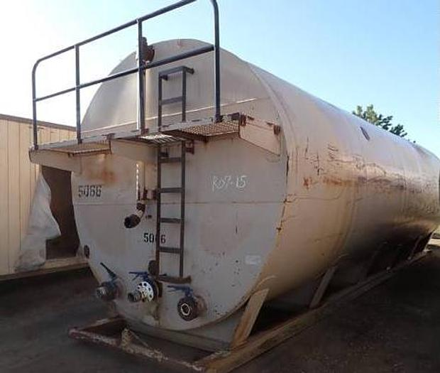 500 Barrel Skid Mounted Frac Tank Round 21000 Gallon