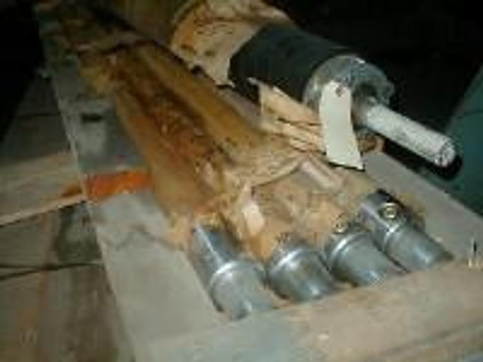 """Used 81"""" Tidland Sano air shafts 3"""" core (1 each) 70"""" face surface Used."""