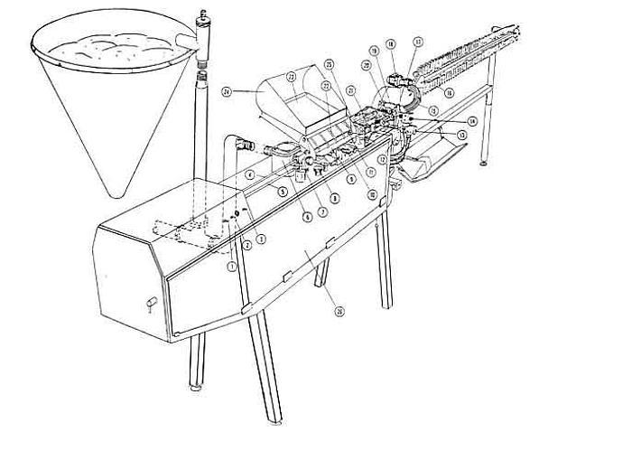 Używane Automat do parówek - TOWNSEND