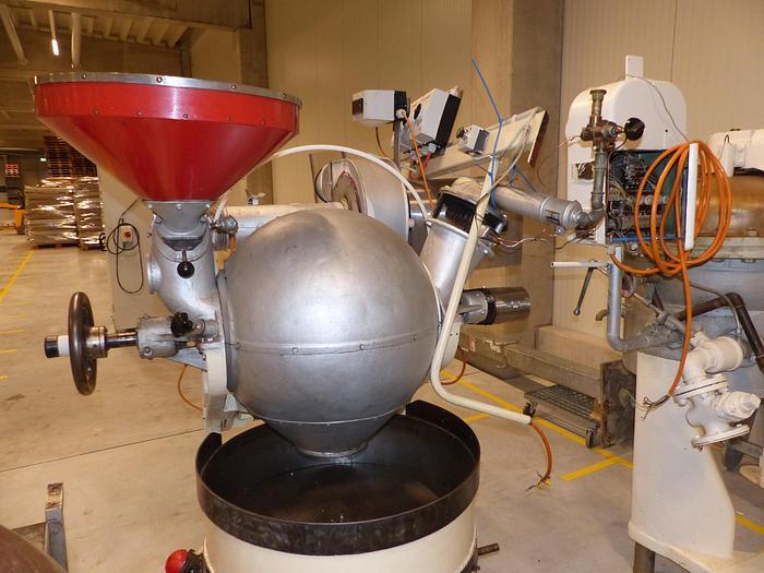 Gebraucht gebr. Kugelröster BARTH Type Oeconom Modell mit Kühlschiff.