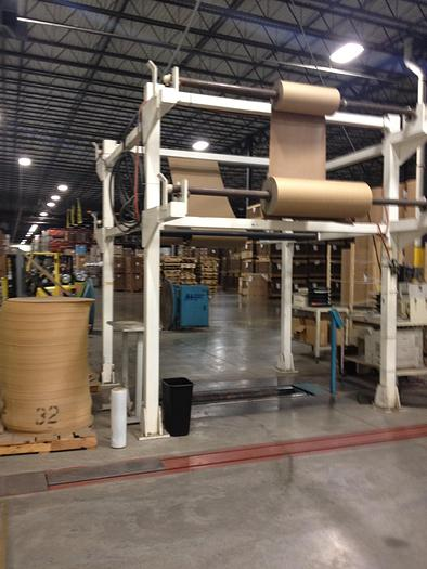 """Used APPLETON ROLL WRAP SYSTEM 50"""" DIA  X 84"""" FACE WIDTH."""