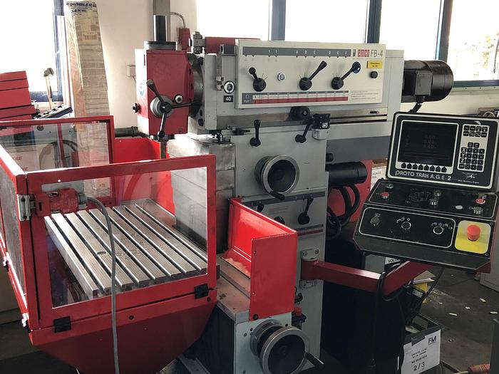 Konventionelle Universal Fräsmaschine EMCO FB-4 2 NC