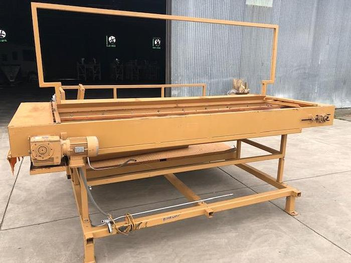 Used GROSSI Almond Sorting Line